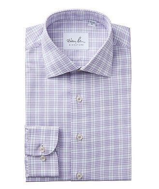 Harry Rosen Signature Windowpane-Checked Dress Shirt