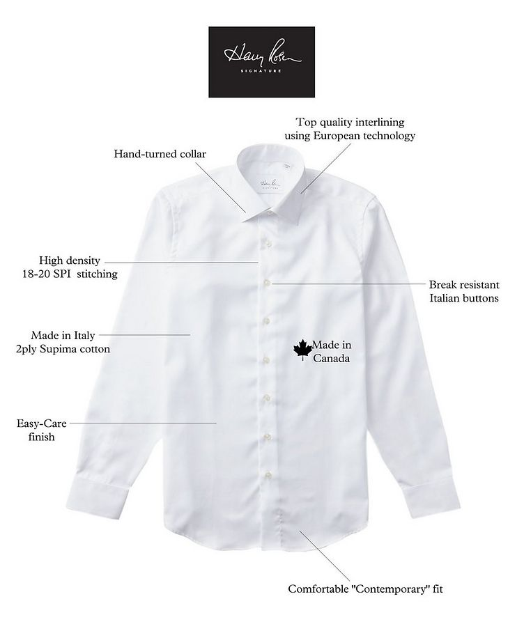 Checked Cotton Dress Shirt image 2
