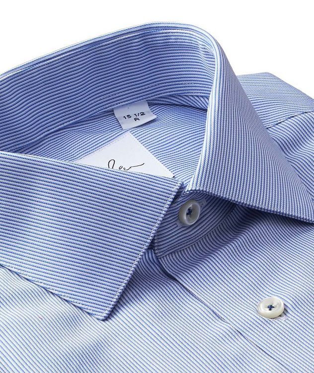 Striped Cotton Dress Shirt picture 2
