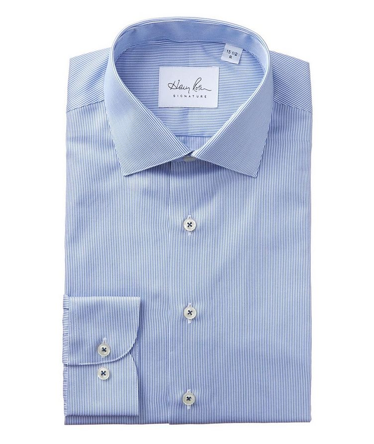 Striped Cotton Dress Shirt image 0