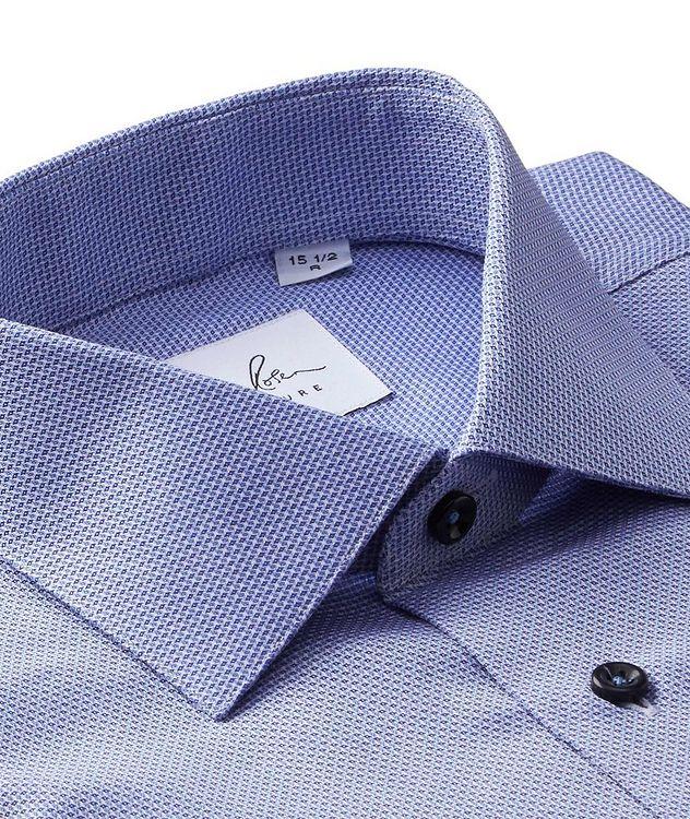 Chemise habillée en coton façonné picture 2