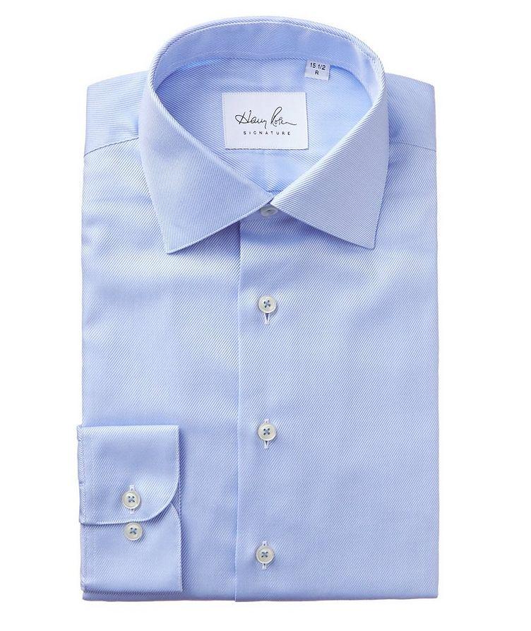 Cotton Twill Dress Shirt image 0