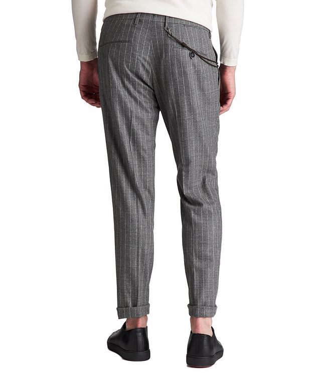 Slim Fit Chalk Striped Dress Pants picture 2