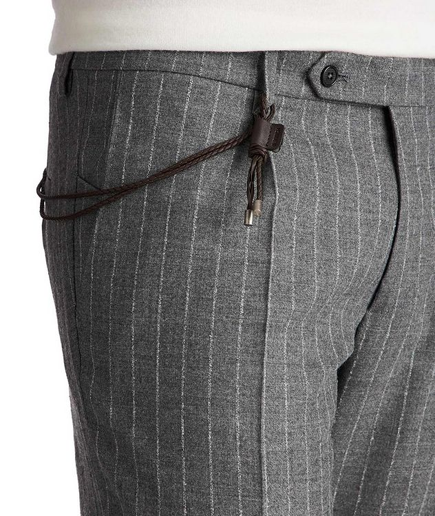 Slim Fit Chalk Striped Dress Pants picture 3