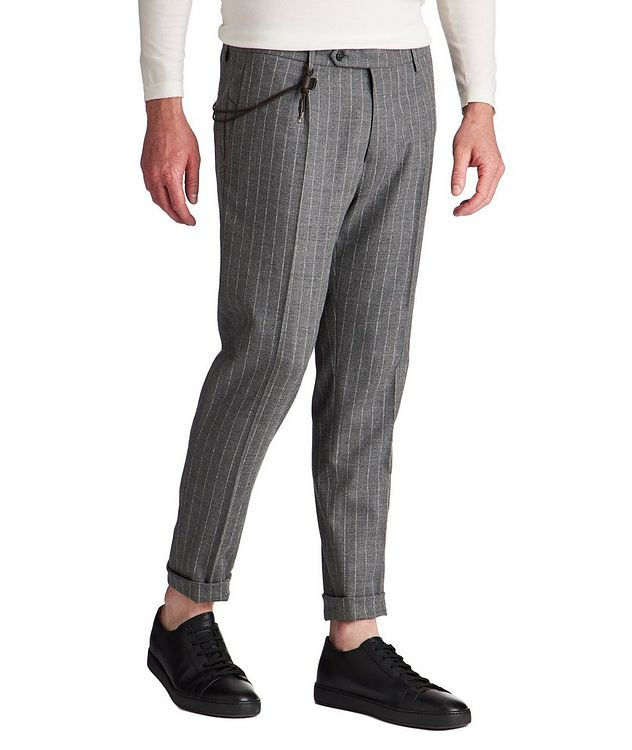 Slim Fit Chalk Striped Dress Pants picture 1
