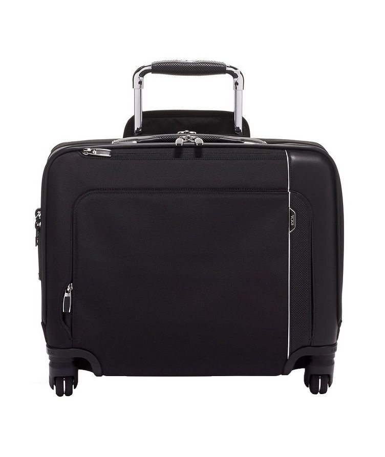 Compact 4-Wheel Briefcase image 0