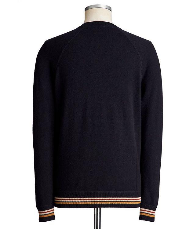 Suitcase Stripe Cashmere Sweater picture 2