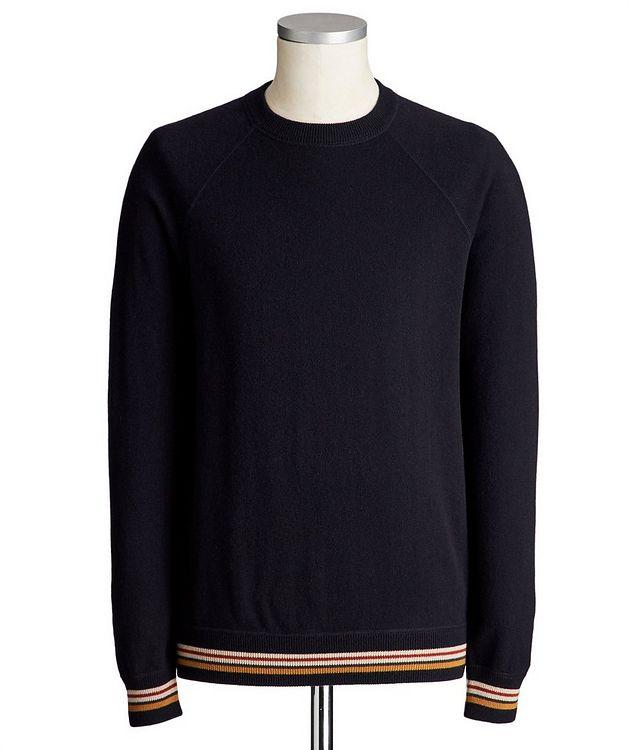 Suitcase Stripe Cashmere Sweater picture 1