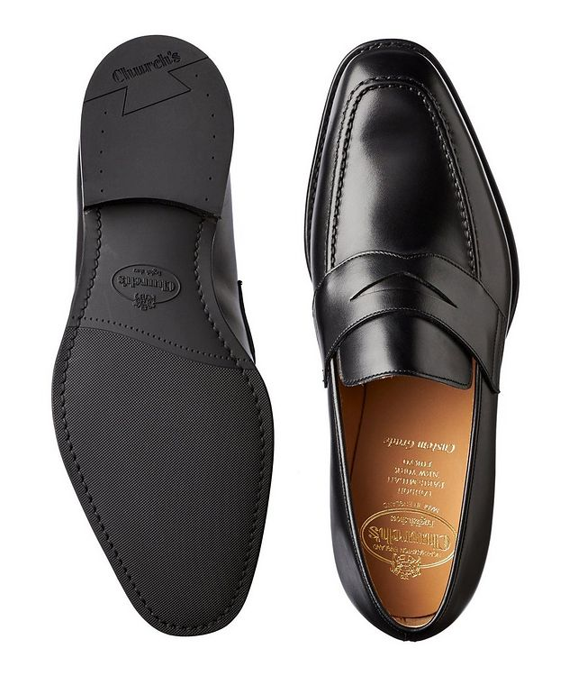 Corley Calfskin Penny Loafers picture 3