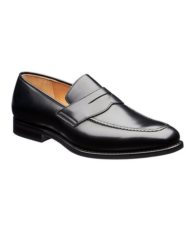 Corley Calfskin Penny Loafers picture 1