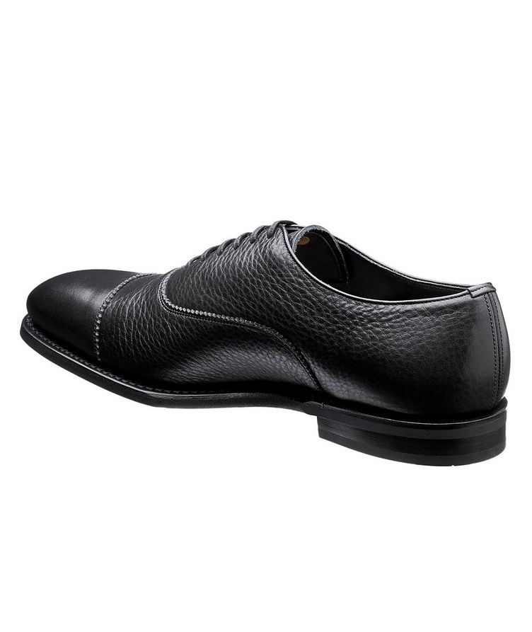Pamington Tumbled Leather Cap-Toe Oxfords image 1