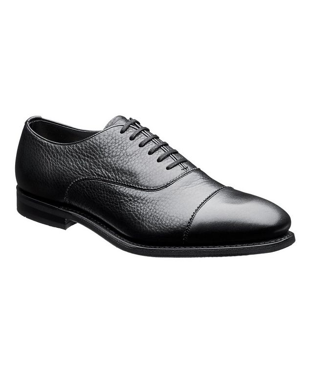 Pamington Tumbled Leather Cap-Toe Oxfords picture 1
