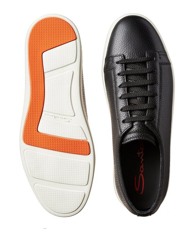 Deerskin Low-Top Sneakers picture 3