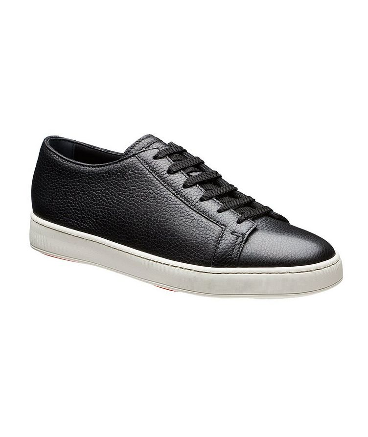 Deerskin Low-Top Sneakers image 0