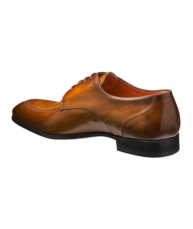 Simon Burnished Leather Derbies picture 2