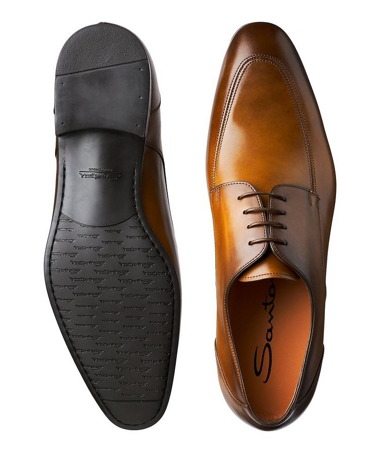 Simon Burnished Leather Derbies image 2