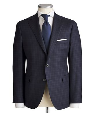 Samuelsohn Madison Checked Suit