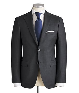Samuelsohn Madison Micro-Checked Suit