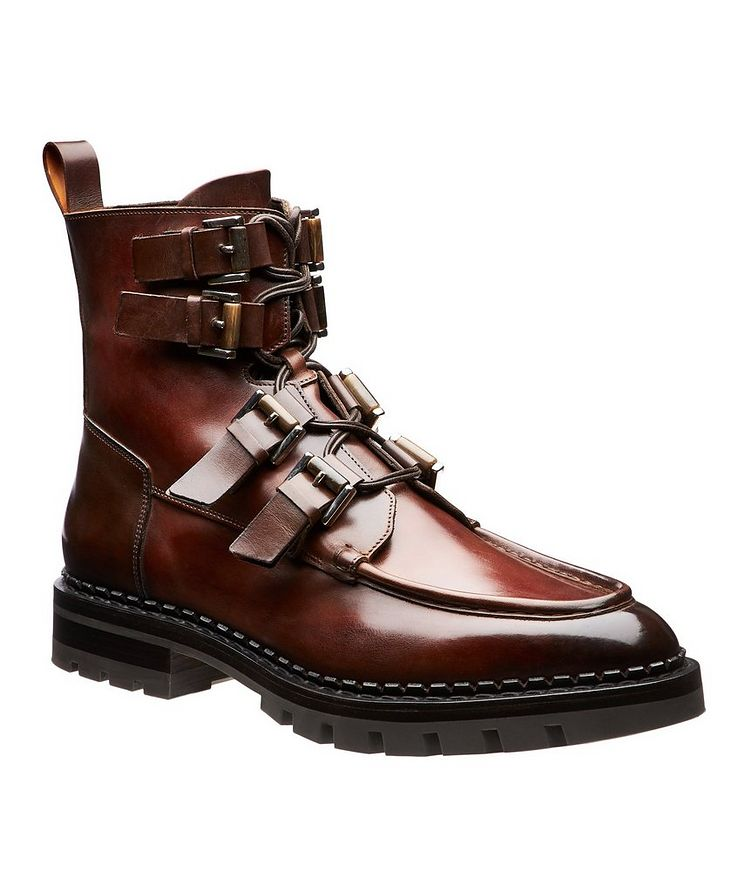 Burnished Buckle Boots image 0
