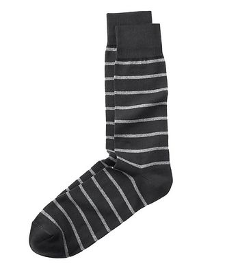 Paul Smith Printed Cotton Socks