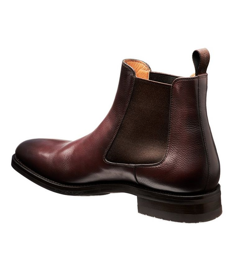 Burnished Leather Chelsea Boots image 1