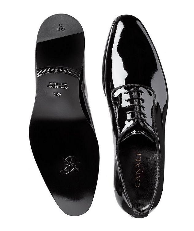 Chaussure lacée en cuir verni picture 3