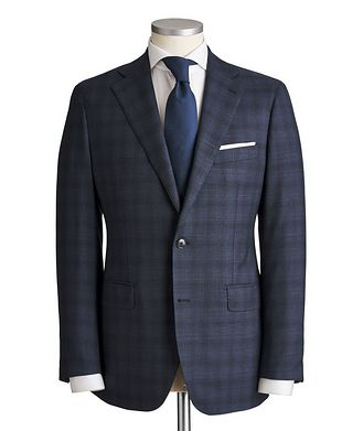 Atelier Munro Slim Fit Checked Suit