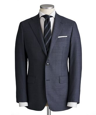 Atelier Munro Slim Fit Bird's Eye Suit