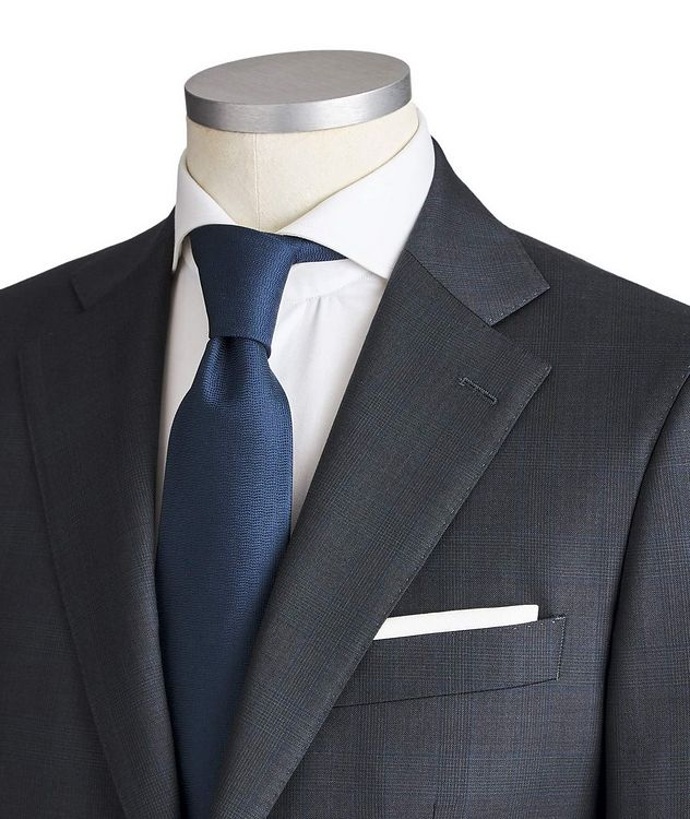 Slim Fit Checked Suit picture 2