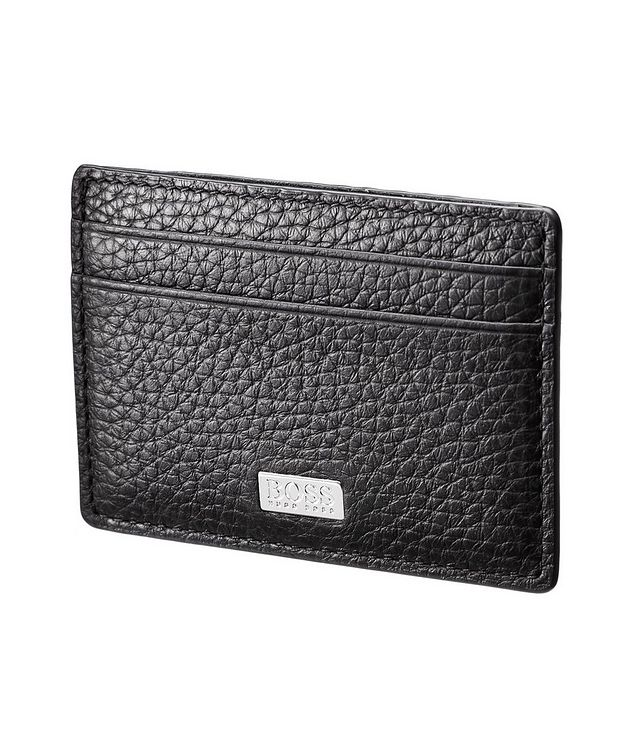 Tumbled Leather Cardholder picture 1