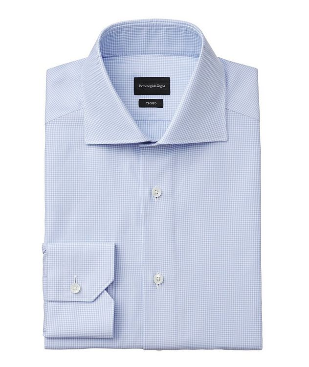 Slim Fit Checked Trofeo Dress Shirt picture 1