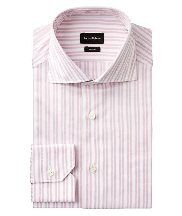 Slim Fit Striped Trofeo Dress Shirt image 0