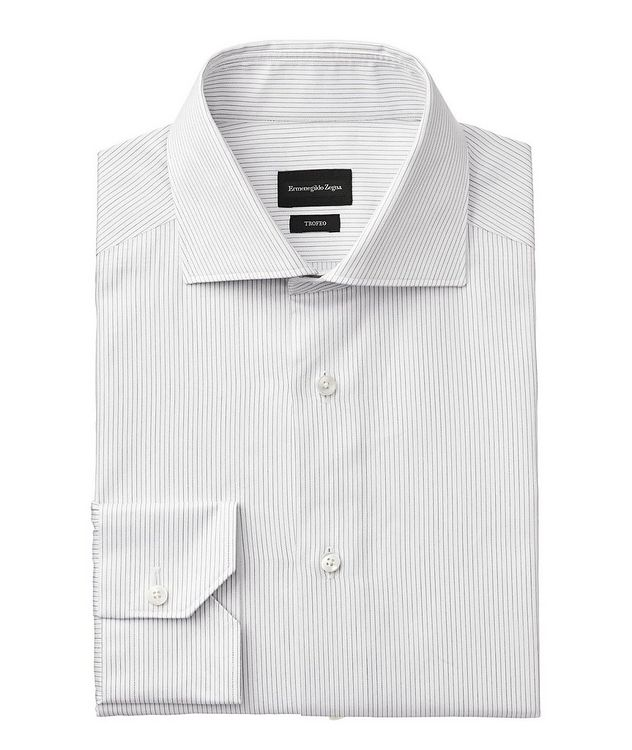 Slim Fit Striped Trofeo Dress Shirt picture 1