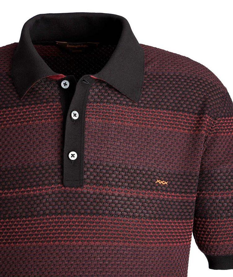 Textured Cotton Polo image 1