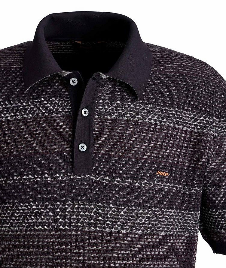 Textured Cotton Polo image 1