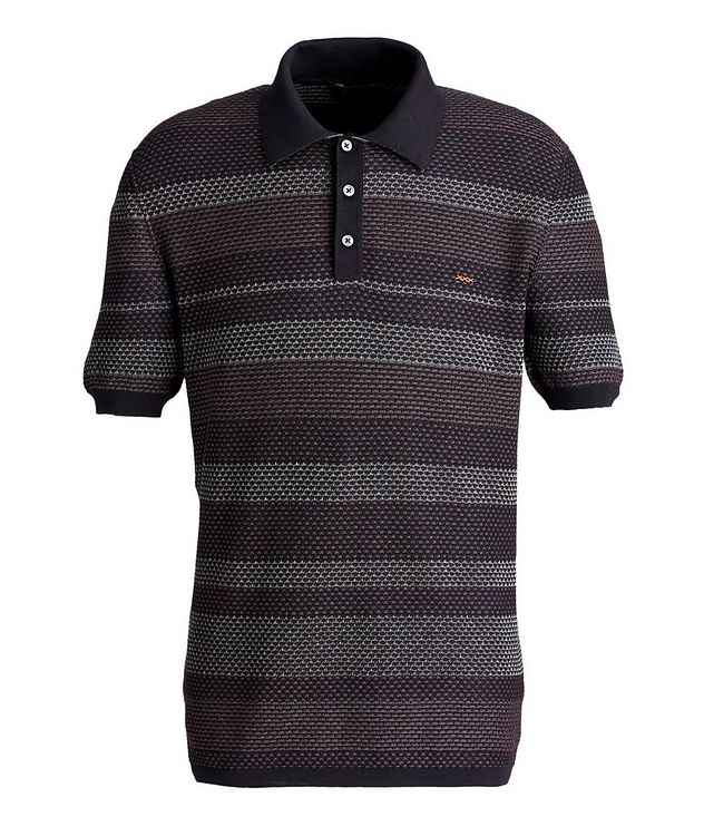 Textured Cotton Polo picture 1