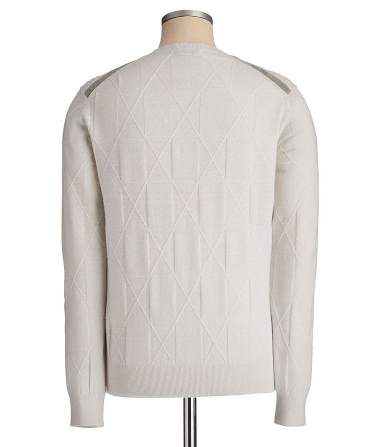 Couture Cashmere-Linen Sweater image 1