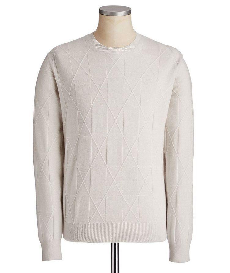 Couture Cashmere-Linen Sweater image 0