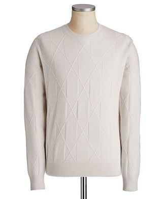 Ermenegildo Zegna Couture Cashmere-Linen Sweater