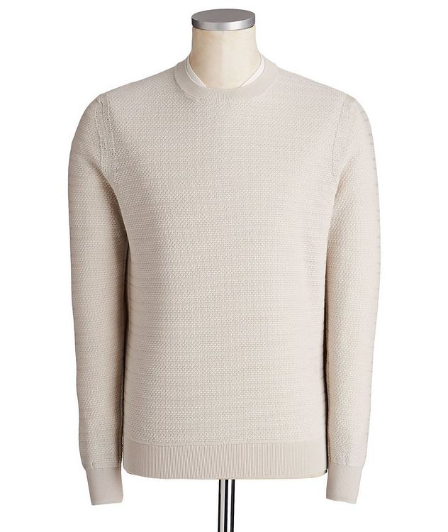 High Performance Layered Collar Sweater picture 1