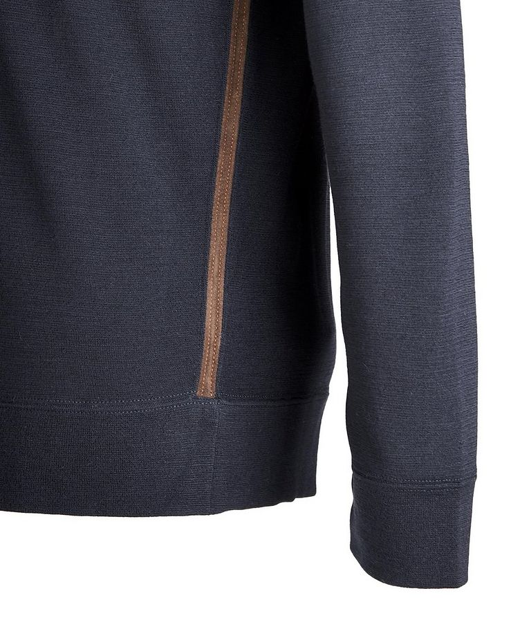 Wool-Suede Performance Sweater image 1