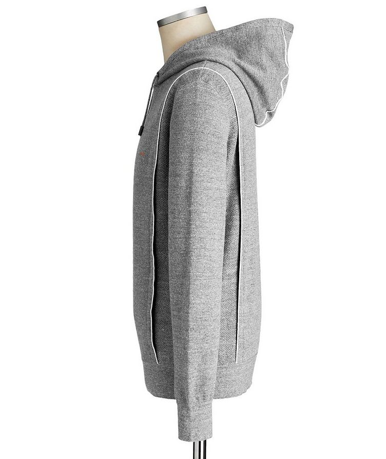Couture XXX Linen-Wool Hoodie image 1