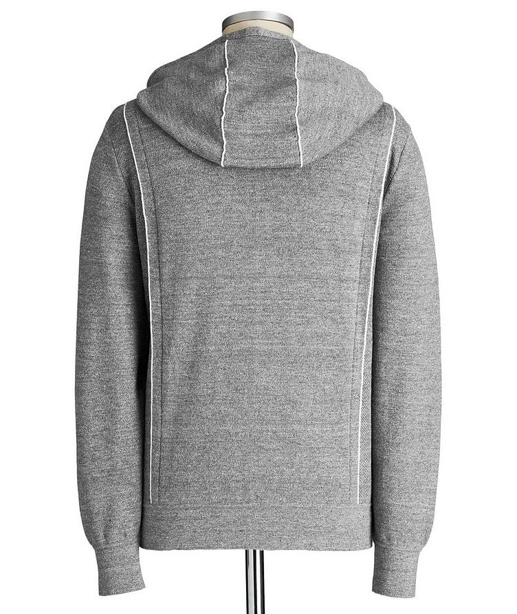 Couture XXX Linen-Wool Hoodie image 2