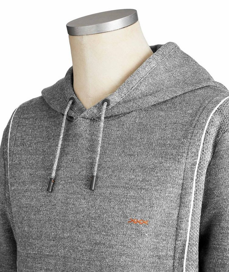 Couture XXX Linen-Wool Hoodie image 3