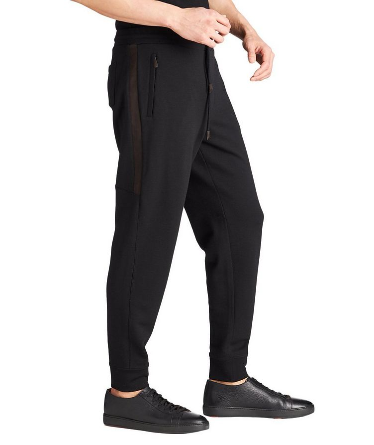 Wool-Cashmere Track Pants image 3