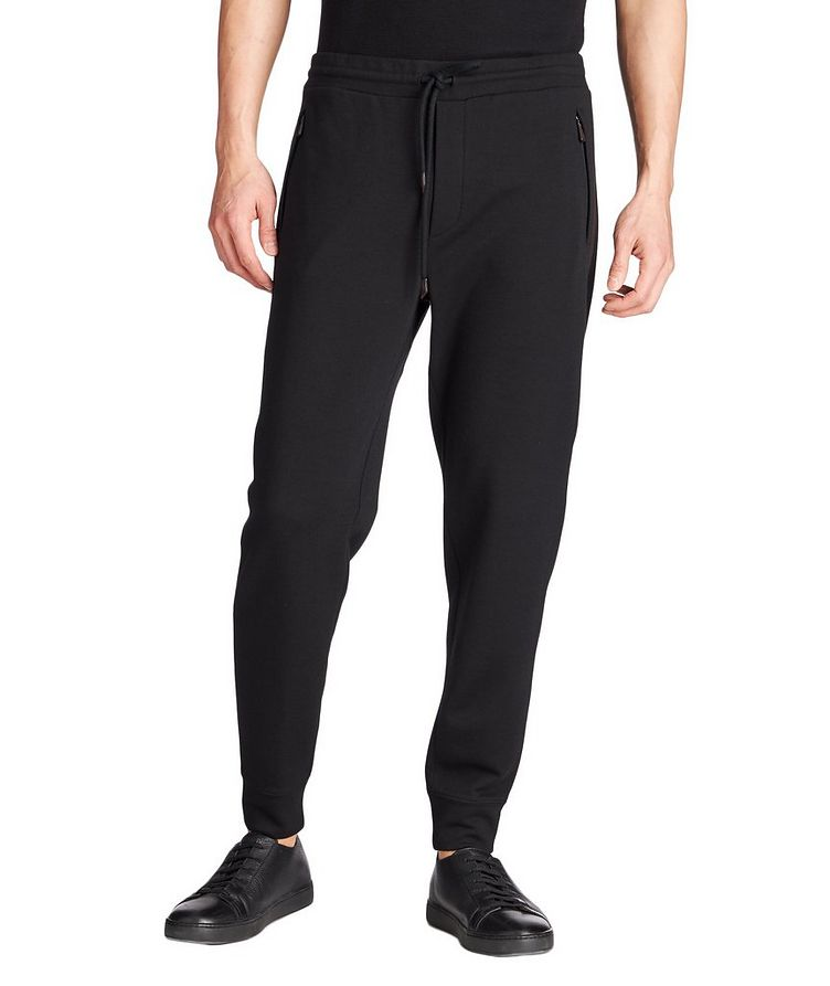 Wool-Cashmere Track Pants image 0