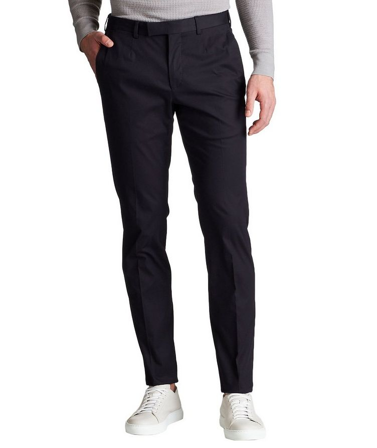 Stretch-Cotton Blend Chinos image 0