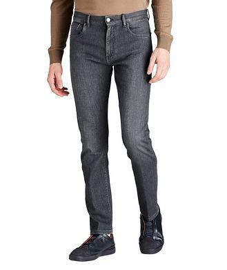 Ermenegildo Zegna Slim Fit Stretch Cotton Jeans