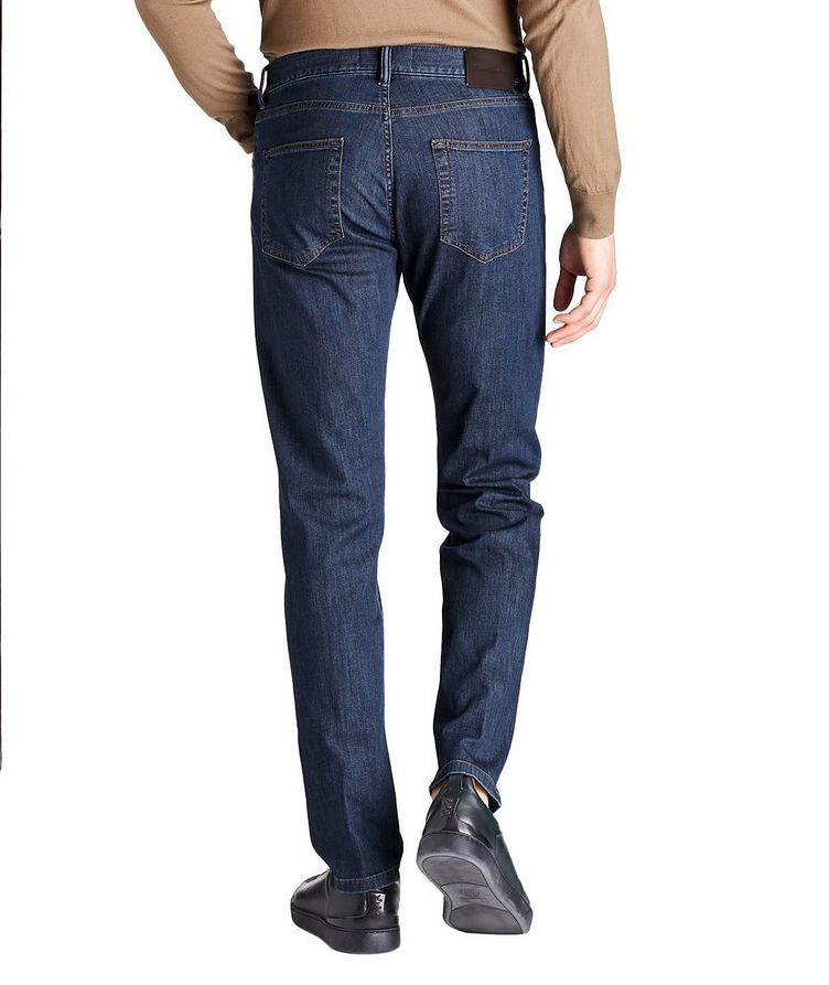 Slim Fit Stretch Cotton Jeans image 1