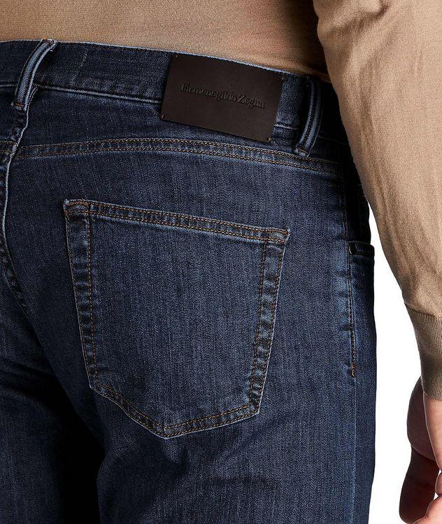 Slim Fit Stretch Cotton Jeans picture 3